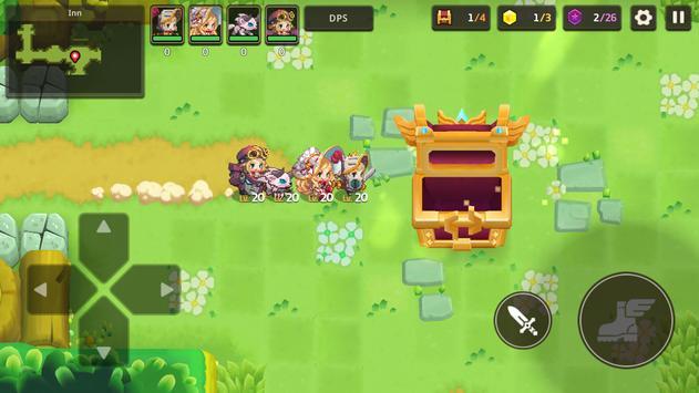 Guardianes Tales captura de pantalla 5