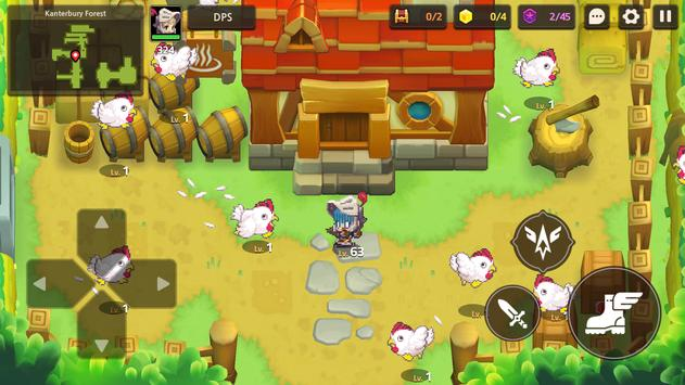Guardianes Tales captura de pantalla 6