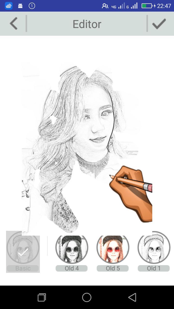 Foto Sketsa Sketsa Pensil Kakita For Android APK Download