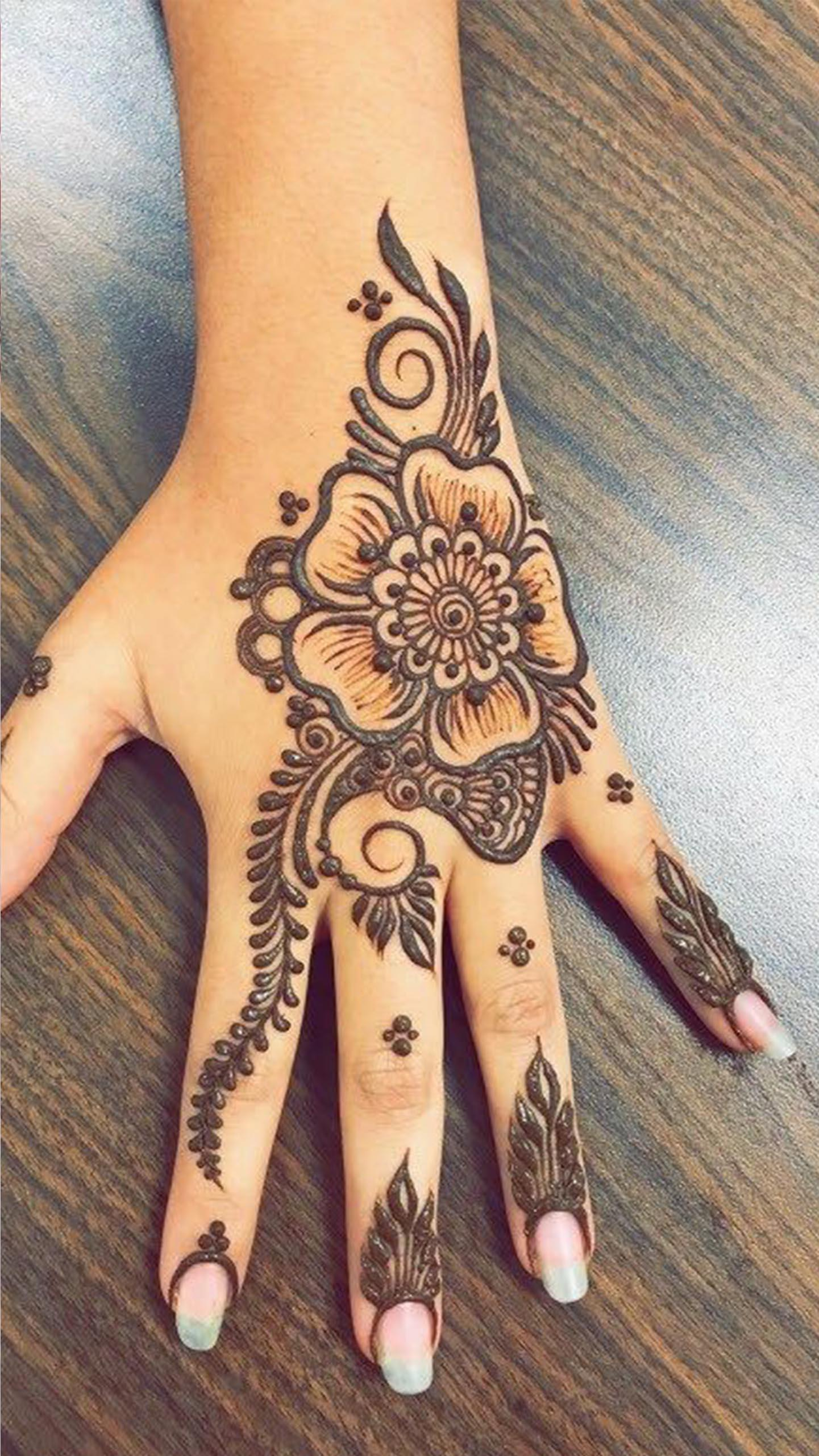 300 Desain Henna Cantik For Android Apk Download