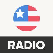美国电台:免费电台应用,FM电台 圖標