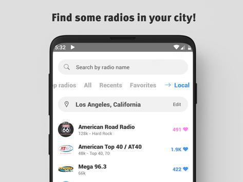 Radio United States: Radio app USA , Free FM Radio screenshot 3
