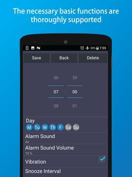 Simple Alarm screenshot 1