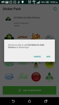 Ramzan Kareem Islamic Stickers For Whatsapp screenshot 2