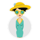 Girls Fashion Stickers For Whatsapp icon
