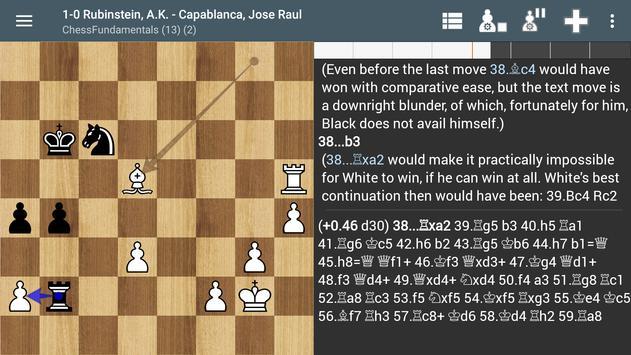Chess PGN Master capture d'écran 4