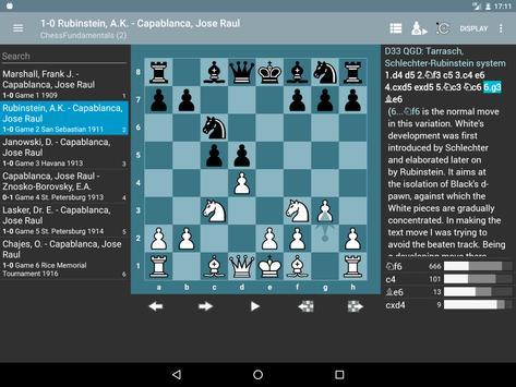 Chess PGN Master capture d'écran 9