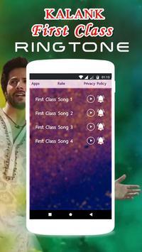 KALANK Ringtone - First Class Song screenshot 3