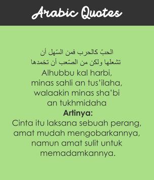 Kata Mutiara Bahasa Arab Dan Artinya Für Android Apk