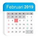 Kalender Indonesia 2019 Masehi Hijriyah Jawa APK Android