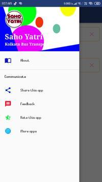 SahoYatri - Kolkata Bus Transport Application screenshot 4