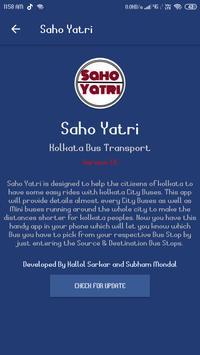 SahoYatri - Kolkata Bus Transport Application screenshot 5