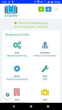 My GTU App screenshot 4