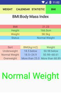 Weight screenshot 5