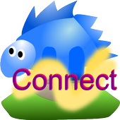 Mountain trip logger connect icon