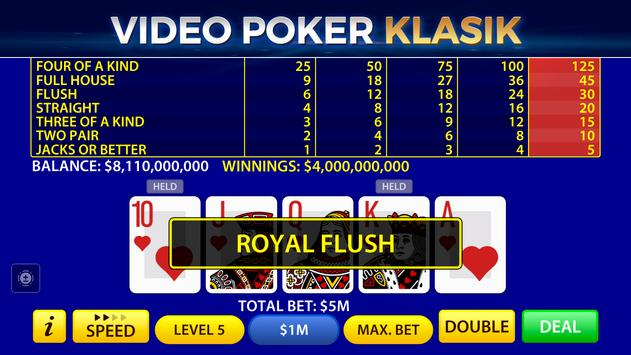 Video Poker screenshot 12