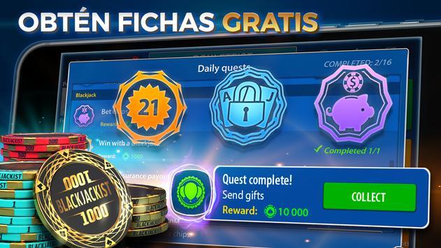 Blackjack captura de pantalla 10