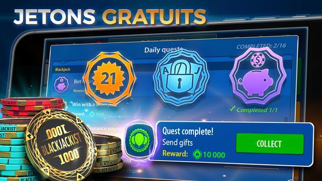 Blackjack capture d'écran 10