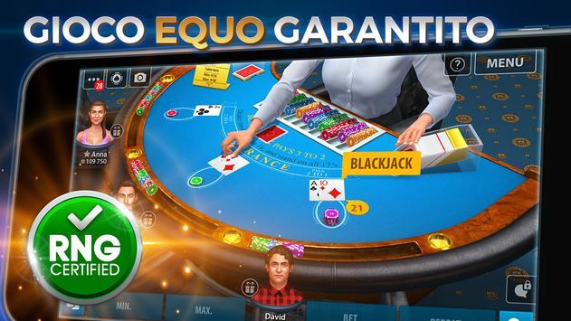 10 Schermata Blackjack