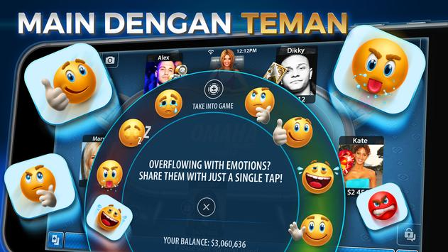 Omaha & Texas Hold'em Poker: Pokerist screenshot 11