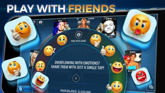 Texas Holdem Poker: Pokerist captura de pantalla 13