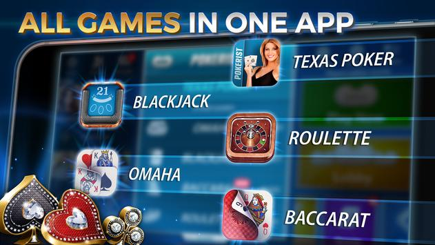Texas hold'em & Omaha poker: Pokerist screenshot 14