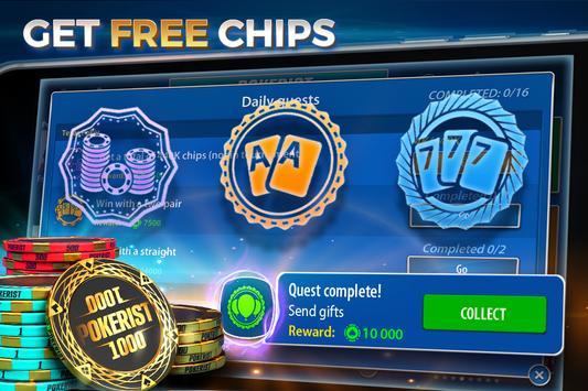 Texas Holdem Poker: Pokerist captura de pantalla 2