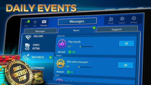 Texas Hold'em & Omaha Poker: Pokerist screenshot 7