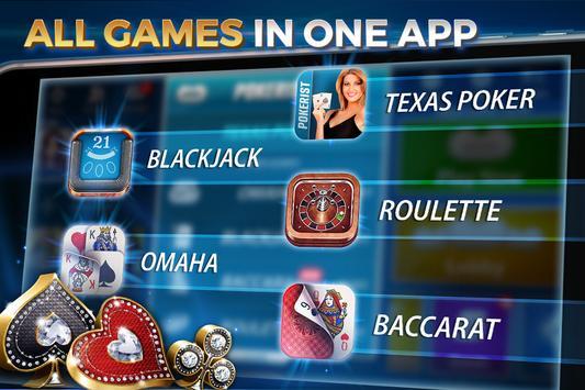 Texas hold'em & Omaha poker: Pokerist screenshot 4