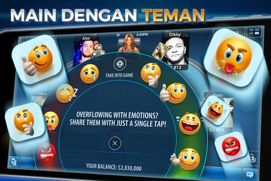 Texas Hold'em & Omaha Poker: Pokerist screenshot 3