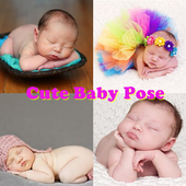 Cute Baby Pose icon