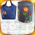 Pattern Ladies Handbags
