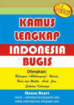 Kamus Lengkap bahasa bugis {Terjemahan/Translate} poster