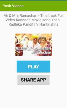 YASH Videos and Movies-Songs Kannada for Android - APK Download