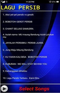 Lagu Persib Bobotoh screenshot 1