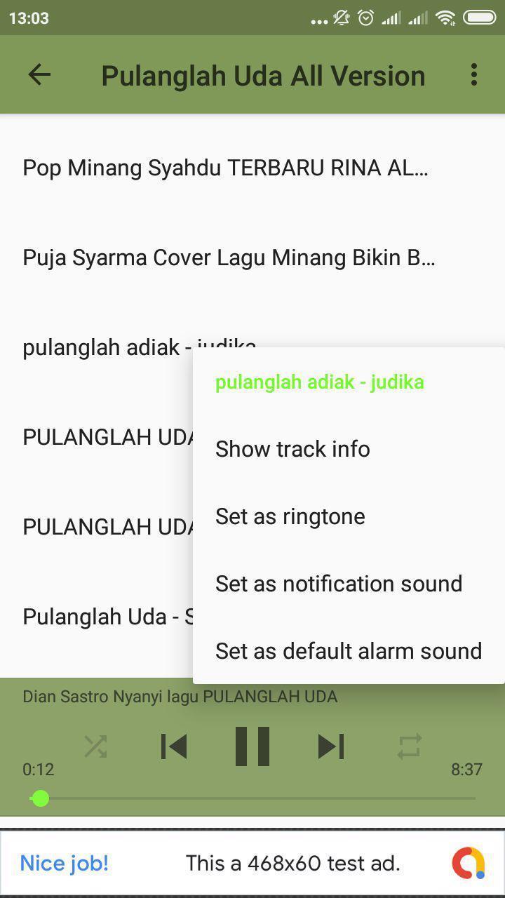 Pulanglah Uda Lagu Minang All Version Para Android Apk Baixar
