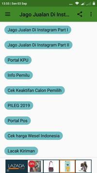 Jago Jualan di Istagram screenshot 4