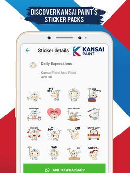 Kansai Paint WhatsApp Stickers poster