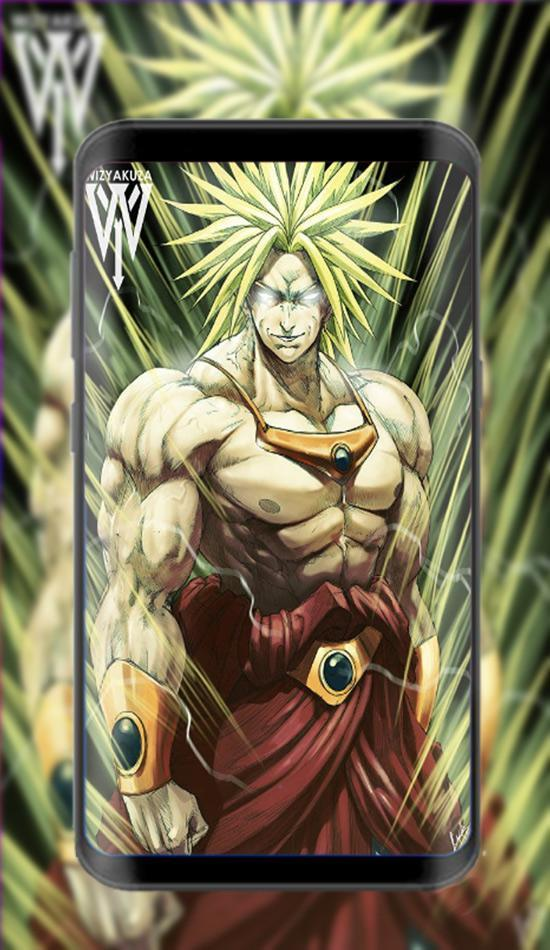 Super Broly Wallpaper 4k For Android Apk Download