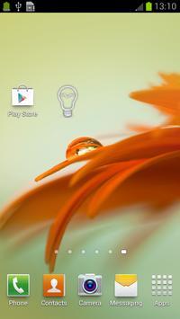 Cute Flashlight Widget screenshot 4