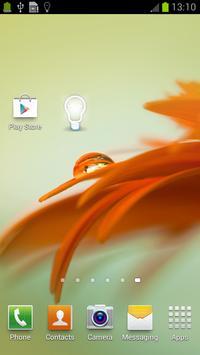 Cute Flashlight Widget screenshot 5