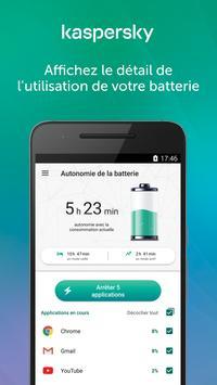Kaspersky Battery Life: Économiseur de Batterie Affiche