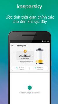 Kaspersky Battery Life: Saver & Booster ảnh chụp màn hình 2