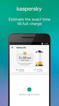 Kaspersky Battery Life: Saver & Booster screenshot 2