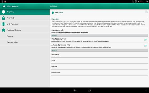 Kaspersky Endpoint Security screenshot 4