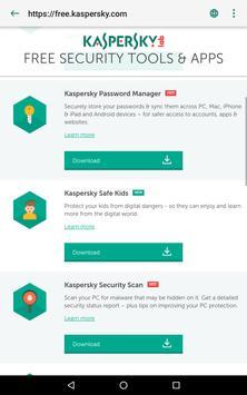 Kaspersky QR Code Scanner: Analyse & Sécurité capture d'écran 12