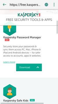 Kaspersky QR Code Scanner: Analyse & Sécurité capture d'écran 2
