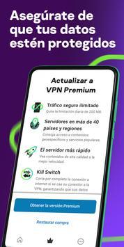 Kaspersky VPN – Secure Connection captura de pantalla 1