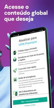 VPN Kaspersky Conexão segura, Proteger localização imagem de tela 6