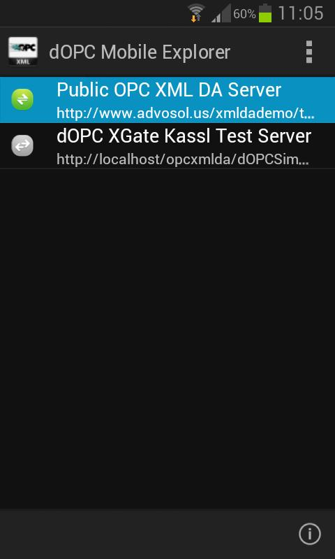 OPC XML DA Explorer for Android - APK Download